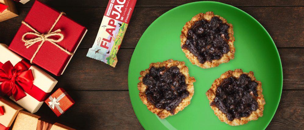 Brynmor - Bryn's Christmas Mince Pie Flapjack Recipe